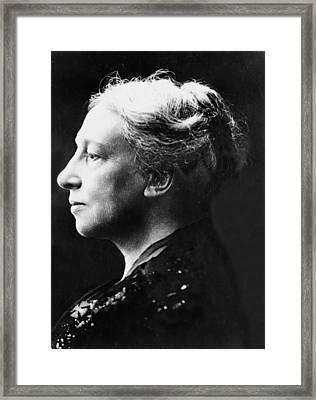 Lady Isabella Augusta Gregory Framed Print by Everett