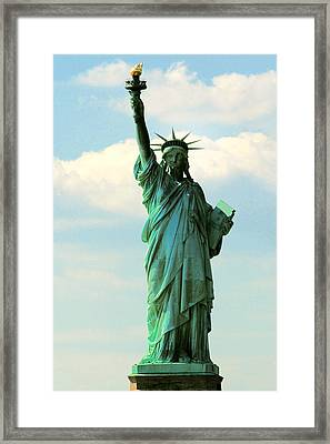 Lady Liberty Framed Print by Artistic Photos