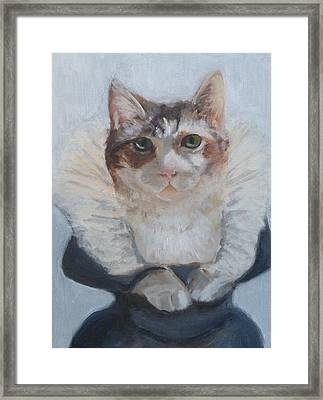 Lady Macboots Framed Print