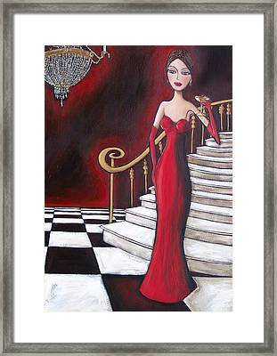 Lady Of The House Framed Print by Denise Daffara