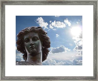 Lady Of The Waters Framed Print