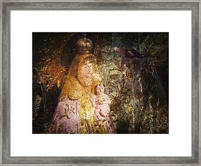 Lady Framed Print by Skip Nall