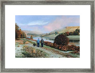 Ladybower Reservoir - Derbyshire Framed Print