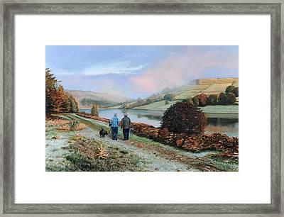 Ladybower Reservoir - Derbyshire Framed Print by Trevor Neal
