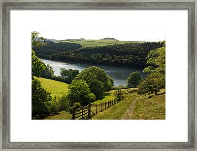 Ladybower Reservoir Framed Print by Photography by Daniel Cook