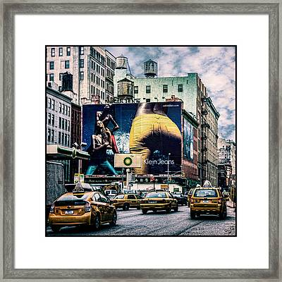 Lafayette And Houston Nyc Framed Print