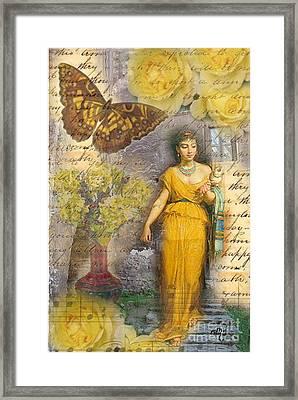 Lafileuse Of 1874 Framed Print