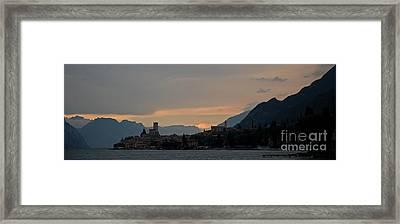 Lago Del Garda Framed Print