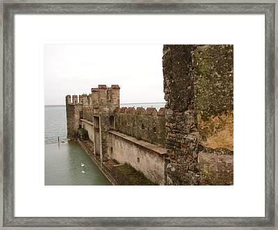 Lago Gardo Framed Print