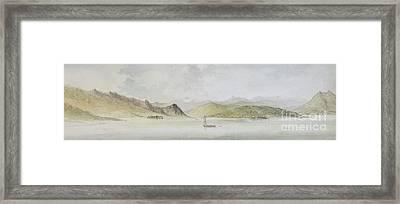Lago Maggiore Framed Print
