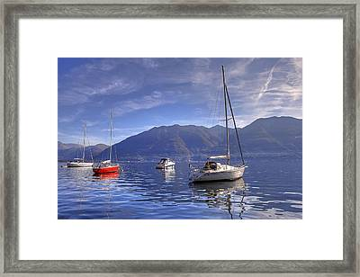 Lago Maggiore Framed Print by Joana Kruse