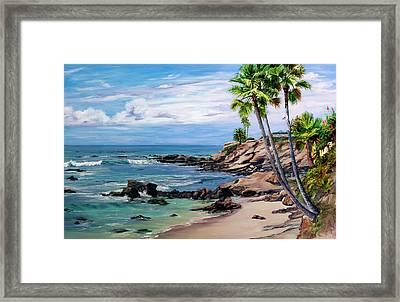 Laguna Beach Framed Print by Lisa Reinhardt