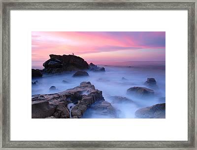 Laguna Beach Sunrise Framed Print