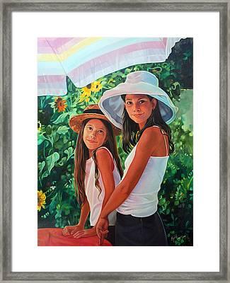 Laguna Framed Print by Elizabeth Shafer