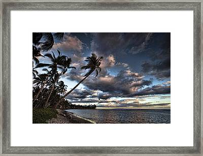 Lahaina Evening Framed Print by James Roemmling