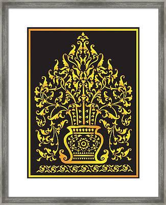Lai Thai Tree Framed Print