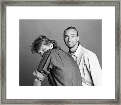 Laid Back Framed Print by Jan W Faul