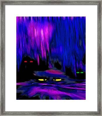 Lair 1 - Pop Art Framed Print by Steve Ohlsen