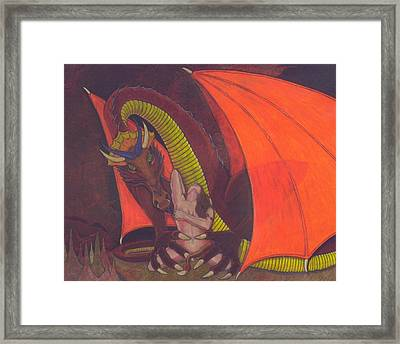 Lair Of The Dragon Framed Print