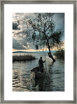 Framed Print featuring the photograph Lake - 2 by Okan YILMAZ