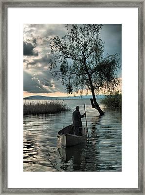 Lake - 2 Framed Print by Okan YILMAZ