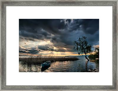 Framed Print featuring the photograph Lake - 3 by Okan YILMAZ