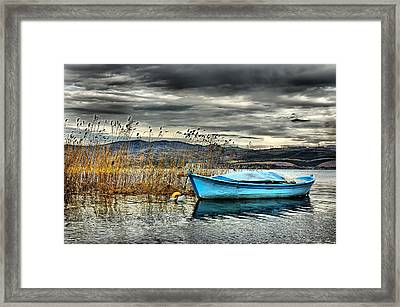Lake - 4 Framed Print by Okan YILMAZ