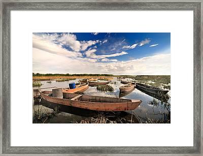 Lake - 5 Framed Print by Okan YILMAZ
