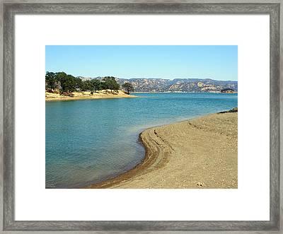 Lake Berryessa Framed Print by Diego Re