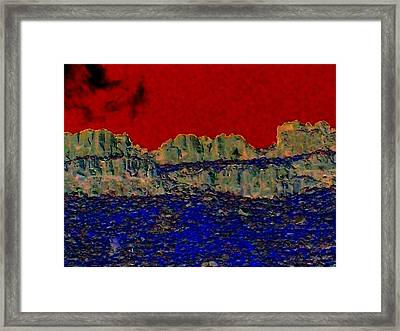 Lake Billy Chinook 3 Framed Print by Randall Weidner