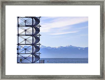 Lake Constance Friedrichshafen Framed Print by Joana Kruse