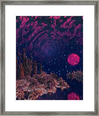 Lake Hali Framed Print by Diana Morningstar