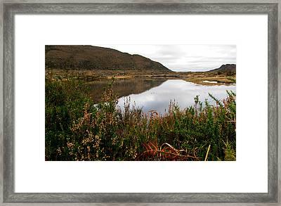 Lake In Killarney Framed Print by Barbara Walsh