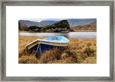 Lake In Killarney National Park Framed Print by Barbara Walsh