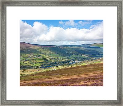 Lake In Wicklow Valley Framed Print by Semmick Photo