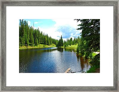 Lake Irene From The East Framed Print