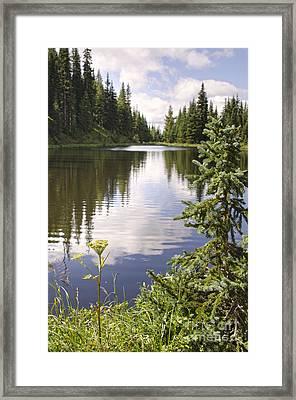 Lake Irene Rocky Mountain National Park Colorado Framed Print