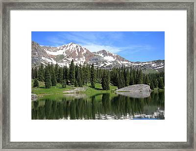 Lake Irwin Framed Print