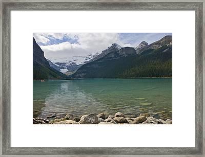 Lake Louise - 1274 Framed Print