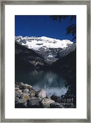 Lake Louise II Framed Print by Sharon Elliott