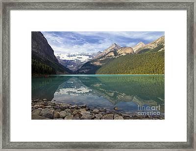 Lake Louise Splendour Framed Print by Teresa Zieba