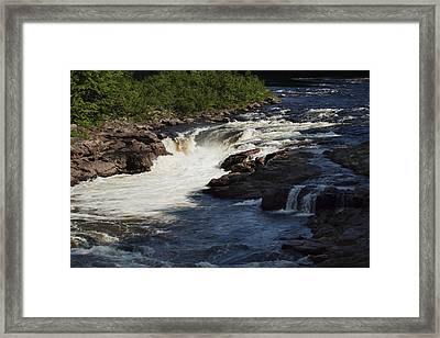 Framed Print featuring the photograph Lake Luzerne by Darleen Stry