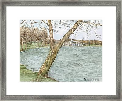Lake Maxinkuckee Shoreline Framed Print