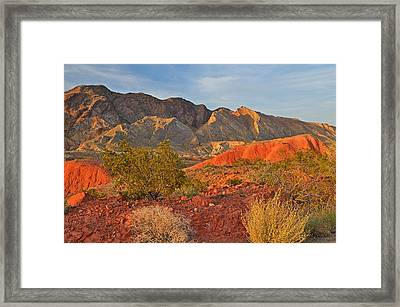 Lake Mead Recreation Area Framed Print by Dean Pennala