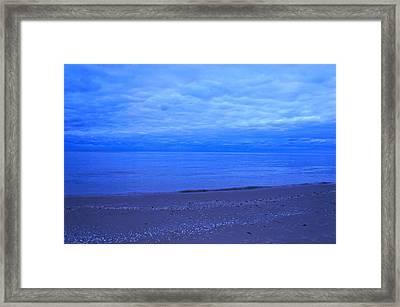 Lake Michigan Framed Print by Kristine Bogdanovich