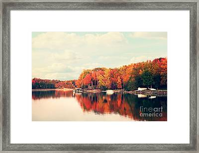 Lake Norman North Carolina Framed Print