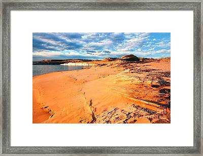 Lake Powell Serenity Framed Print by Thomas R Fletcher