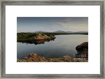 Lake Quanah Parker  Framed Print by Royce  Gideon
