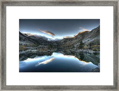 Lake Sabrina Bishop Ca Framed Print by Joe  Palermo