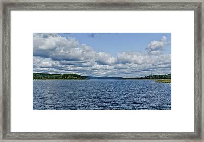 Lake Seliger Framed Print